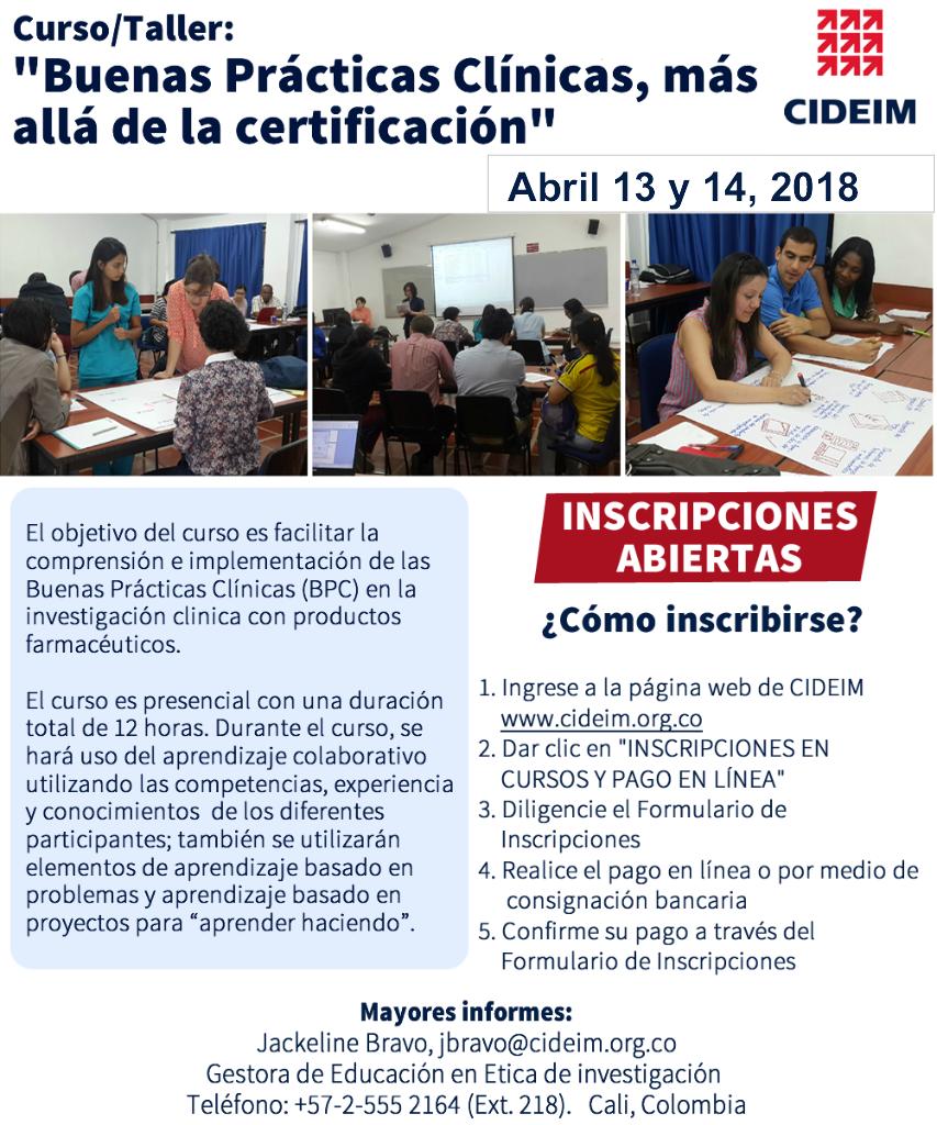 Buenas Prácticas Clínicas: Más allá de la certificación (BPC)